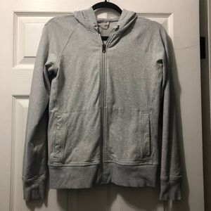 Lululemon Hoody Grey Zip Up
